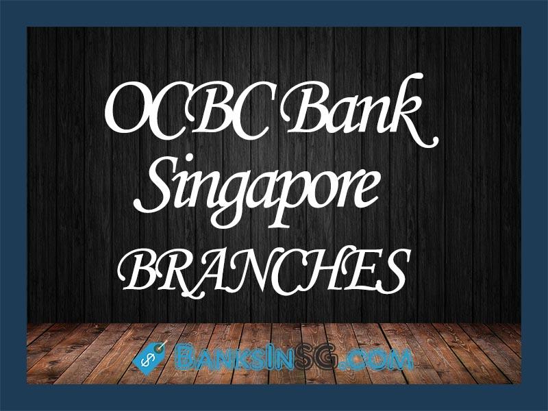 OCBC Bank Singapore Branches